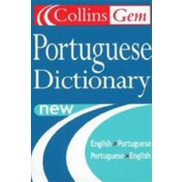 Collins Gem Portuguese Dictionary English-Portuguese / Portuguese-English