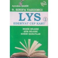 9. Sınıfa Yardımcı LYS Edebiyat Cep Kart 1