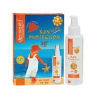 Dermoskin Sun Protection SPF 50+ Çocuklar için Güneş Koruyucu Krem