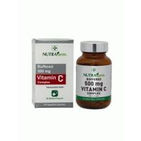 Nutrafarm Buffered 500 Mg Vitamin C Complex - Derm