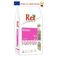 Rex Premium Kıtten Kedi Maması 3 kg