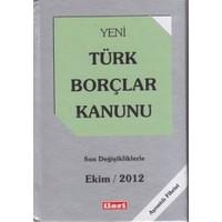 Yeni Türk Borçları Kanunu