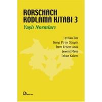 Rorschach Kodlama Kitabı 3 - Yaşlı Normları