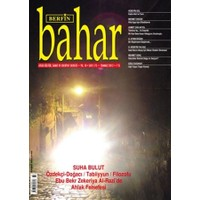 Berfin Bahar Aylık Kültür, Sanat ve Edebiyat Dergisi Sayı : 173