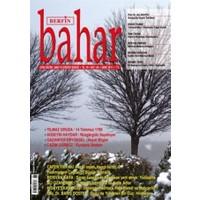 Berfin Bahar Aylık Kültür, Sanat ve Edebiyat Dergisi Sayı : 168