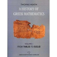 A History Of Greek Mathematics Volume 1 From Thales To Euclid