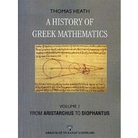 A History Of Greek Mathematics Volume 2 From Aristarchus To Diophantus