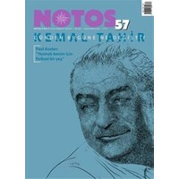 Notos Öykü İki Aylık Edebiyat Dergisi Sayı : 57 Nisan-Mayıs 2016