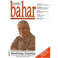 Berfin Bahar Aylık Kültür, Sanat ve Edebiyat Dergisi Sayı : 139