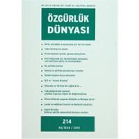Özgürlük Dünyası Aylık Sosyalist Teori ve Politika Dergisi Sayı : 214 - Haziran 2010