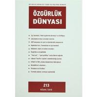 Özgürlük Dünyası Aylık Sosyalist Teori ve Politika Dergisi Sayı : 213 - Nisan 2010