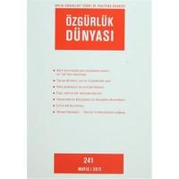Özgürlük Dünyası Aylık Sosyalist Teori ve Politika Dergisi Sayı : 241 - Mayıs 2013