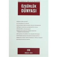 Özgürlük Dünyası Aylık Sosyalist Teori ve Politika Dergisi Sayı : 236 - Aralık 2012