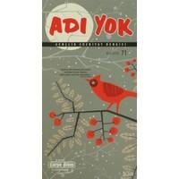 Adı Yok Gençlik Edebiyat Dergisi Sayı: 71