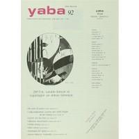 Yaba Edebiyat Dergisi Sayı: 92