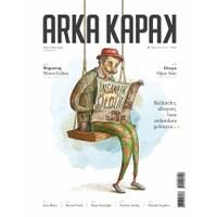 Arka Kapak Dergisi Sayı : 7 Nisan 2016 (Defter Hediyeli)