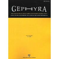 Gephyra Sayı 11 / Volume 11 - 2014