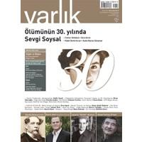 Varlık Aylık Edebiyat ve Kültür Dergisi Sayı : 1306 - Temmuz 2016