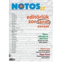 Notos Öykü İki Aylık Edebiyat Dergisi Sayı : 27
