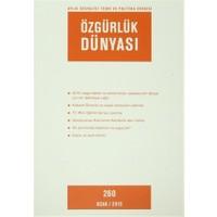 Özgürlük Dünyası Aylık Sosyalist Teori ve Politika Dergisi Sayı : 260 - Ocak 2015