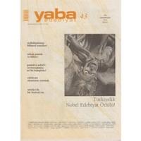 Yaba Edebiyat Dergisi Sayı: 43
