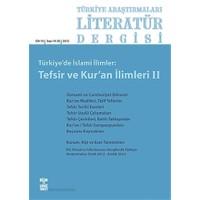 Türkiye Araştırmaları Literatür Dergisi Cilt 10 Sayı: 19-20