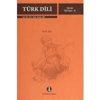 Türk Dili Sayı 445-450: Türk Şiiri Özel Sayısı 3 (Halk Şiiri)