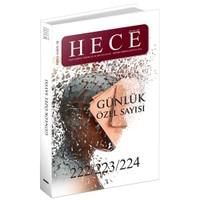 Hece Aylık Edebiyat Dergisi Günlük Özel Sayı: 30 - 222/223/224
