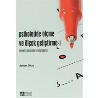 Psikolojide Ölçme ve Ölçek Geliştirme - 1