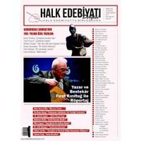 Halk Edebiyatı Dergisi Sayı : 5 / Mart-Nisan 2015