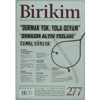 Birikim Aylık Sosyalist Kültür Dergisi Sayı: 277