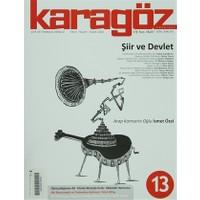 Karagöz Dergisi Sayı:13