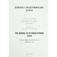 Osmanlı Araştırmaları - The Journa of Ottoman Studies Sayı: 28