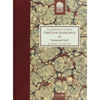 İstanbul Kadı Sicilleri : Üsküdar Mahkemesi 26 Numaralı Sicil (H.970-971 / M. 1562-1563)