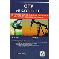 ÖTV (1) Sayılı Liste