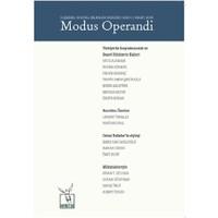 Modus Operandi İlişkisel Sosyal Bilimler Dergisi Sayı: 1 / Mart 2015