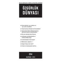 Özgürlük Dünyası Aylık Sosyalist Teori ve Politika Dergisi Sayı : 254 - Haziran 2014