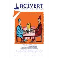 Lacivert Öykü ve Şiir Dergisi Sayı : 55 Ocak-Şubat 2015