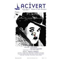 Lacivert Öykü ve Şiir Dergisi Sayı : 57 Mayıs-Haziran 2014