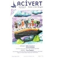 Lacivert Öykü ve Şiir Dergisi Sayı : 58 Temmuz-Ağustos 2014