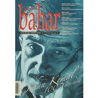 Berfin Bahar Aylık Kültür, Sanat ve Edebiyat Dergisi Sayı : 199