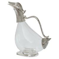 Gümüş Cam Ördek Sürahi