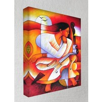 Kanvas Tablo - Soyut Modern Tablolar - Mts01
