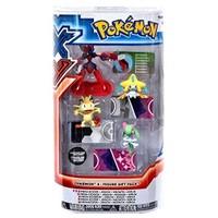 Takara Tomy Pokemon Figür 4'Lü Set: Mega Scizor,Jirachi,Meowth,Kirlia
