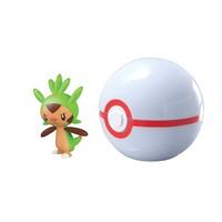 Tomy Pokemon Pokeball Set: Chespin + Premier Ball