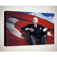 Kanvas Tablo - Atatürk - Atr04