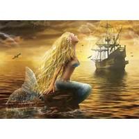Gold 1000 Parça Puzzle - Denizkızı