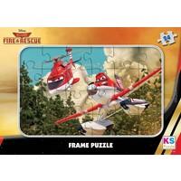 Ks Games 24 Parça Frame Planes Çocuk Puzzle