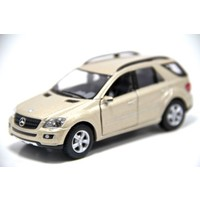 Mercedes Benz ML Class (Krem) 1:36 Çek Bırak Metal Araba