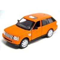 Kinsmart Range Rover Sport (Turuncu) 1:38 Metal Çek Bırak Araba
